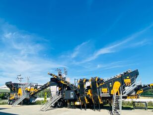neue FABO MCK-95 MOBILE CRUSHING & SCREENING PLANT   JAW+CONE mobile Brecher