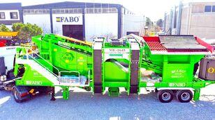 neue FABO ME 1645 SERIES MOBILE SAND SCREENING PLANT mobile Brecher