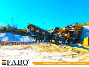 neue FABO MVSI 900 MOBILE VERTICAL SHAFT IMPACT CRUSHING SCREENING PLANT mobile Brecher