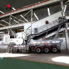 neue Liming durable and efficient complete stone crushing plant price low in mobile Brecher