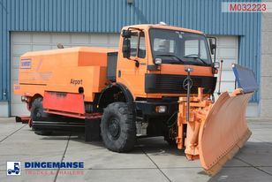 MERCEDES-BENZ SK 2031 4x4x4 Schmidt CJS9 airport sweeper snow plough Flughafen-Kehrmaschine