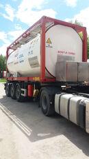 VAN HOOL ОРЕНДА / Охолодження -10 / Підігрів + 80  Tankcontainer - 20 Fuß