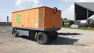 MWM Mobiles Notstromaggregat am Anhänger Dieselgenerator